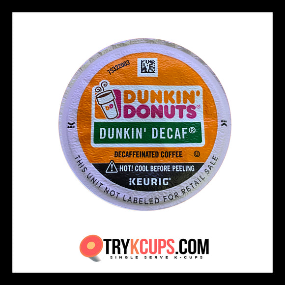 Dunkin Donuts • Dunkin' Decaf K-Cup Flavor