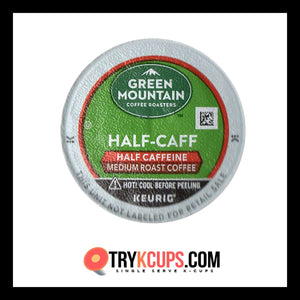 Green Mountain Coffee Roasters • Half Caff K-Cup Flavor
