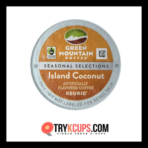 Green Mountain Coffee Roasters Island Coconut K-Cup Flavor