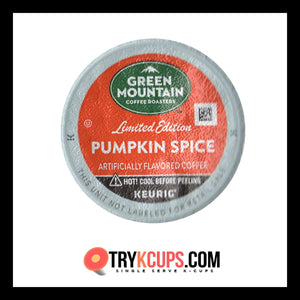 Green Mountain Coffee Roasters • Pumpkin Spice K-Cup Flavor