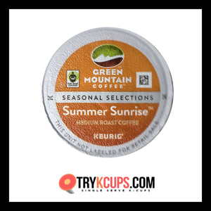 Green Mountain Coffee Roasters Summer Sunrise K-Cup Flavor