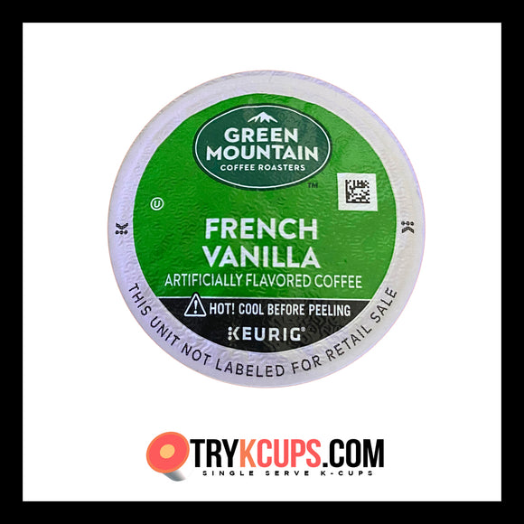Green Mountain Coffee Roasters • French Vanilla K-Cup Flavor