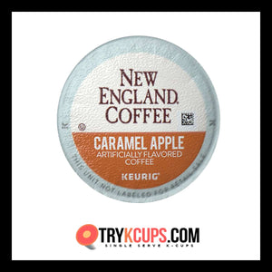 New England Coffee Caramel Apple K-Cup Flavor