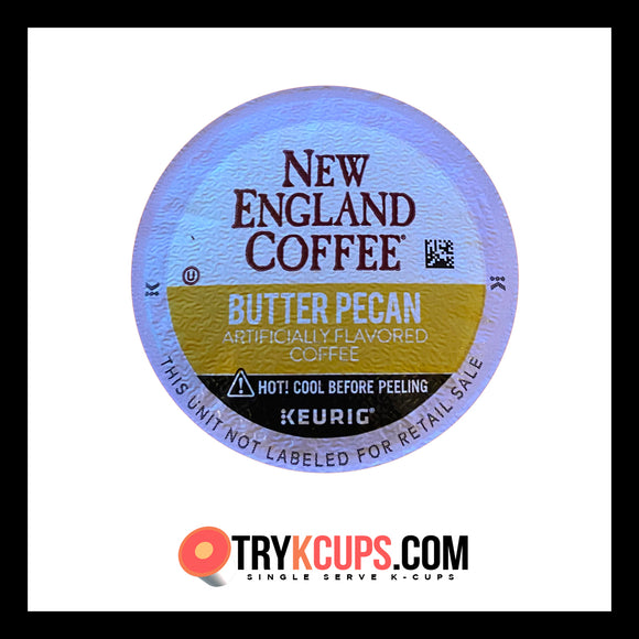 New England Coffee • Butter Pecan K-Cup Flavor
