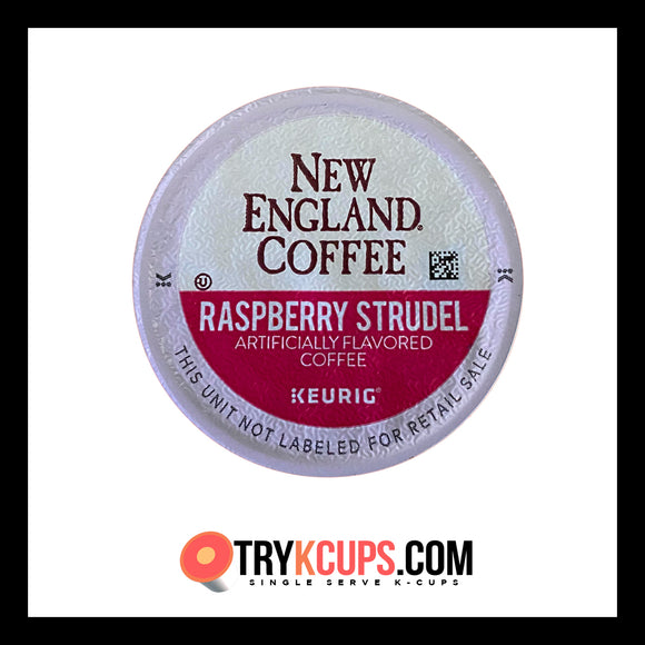 New England Coffee • Raspberry Strudel K-Cup Flavor