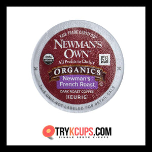 Newman's Own Organics Newman's French Roast K-Cup Flavor