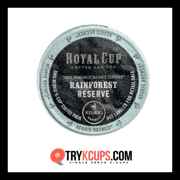 Royal Cup Coffee And Tea Rainforest Reserve K-Cup Flavor