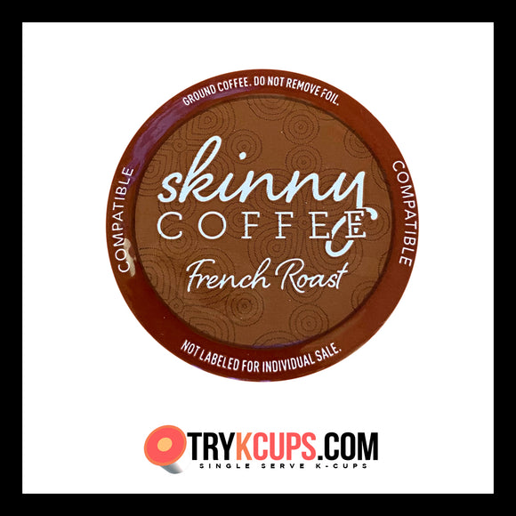 Skinny Coffee • French Roast K-Cup Flavor