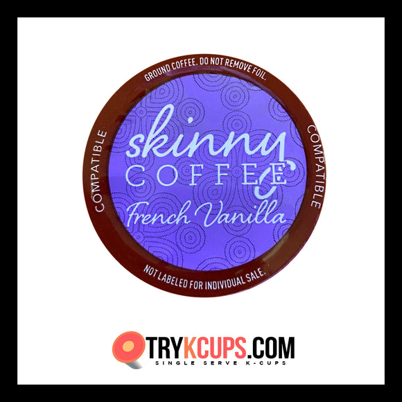 Skinny Coffee • French Vanilla K-Cup Flavor