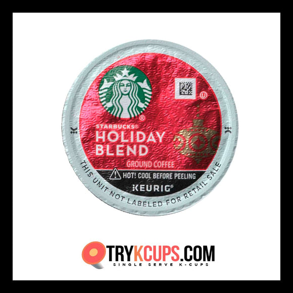 Starbucks • Holiday Blend K-Cup Flavor