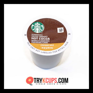 Starbucks • Salted Caramel Hot Cocoa K-Cup
