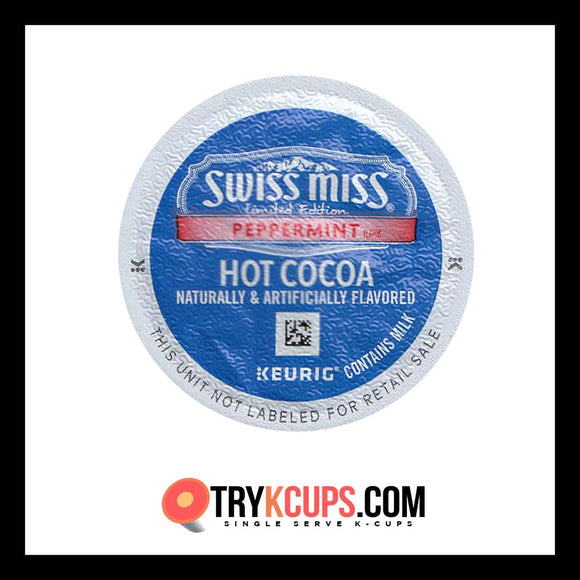 Swiss Miss Peppermint Hot Cocoa K-Cup Flavor