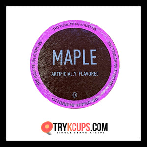 White Coffee • Maple Bourbon K-Cup Flavor