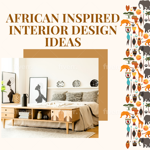 african inspired room decoration