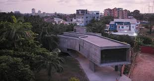 nubuke foundation an arts centre in accra, ghana, west africa