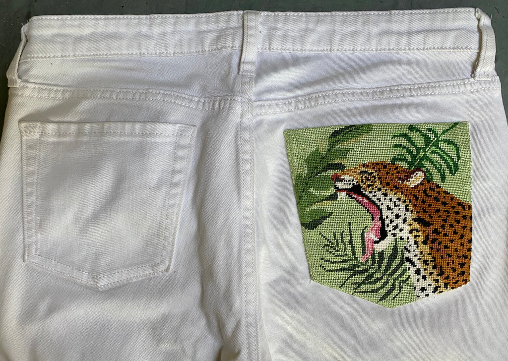 Measuring for Your Leopard Pocket