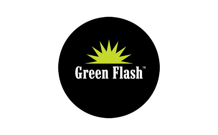 Green Flash Brewing Co.のロゴ