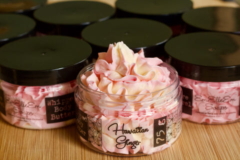 Whipped Body Butter - Hawaiian Ginger