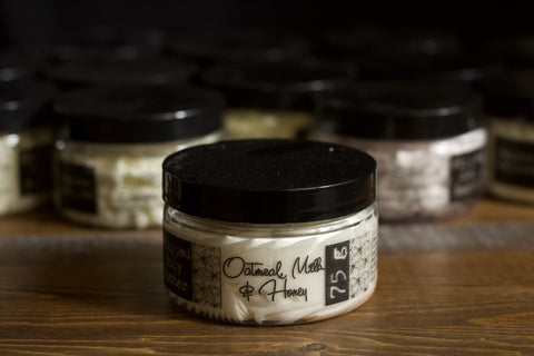 Whipped Body Butter - Milk & Honey