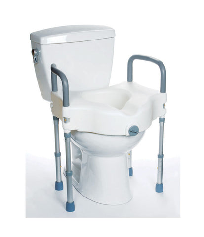 Raised Toilet Seat with Legs: WeightCapacity 300Lb