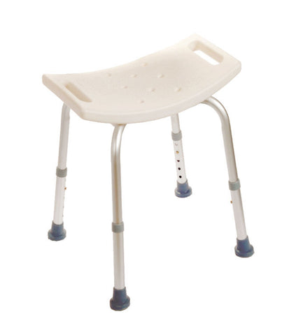 Bath Chair without Back - 300Lb Capacity