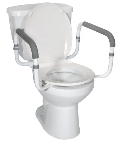 Toilet Safety Rail: capacity 300 lbs