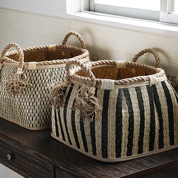 Beetlejuice Basket-The Queen of Rattan-The Queen of Rattan