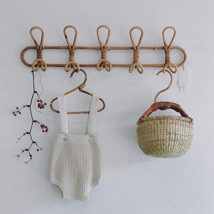Euphrates Rattan Coat Rack-The Queen of Rattan-The Queen of Rattan