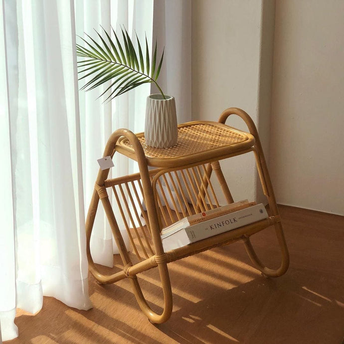 Sahara Side Table-The Queen of Rattan-The Queen of Rattan