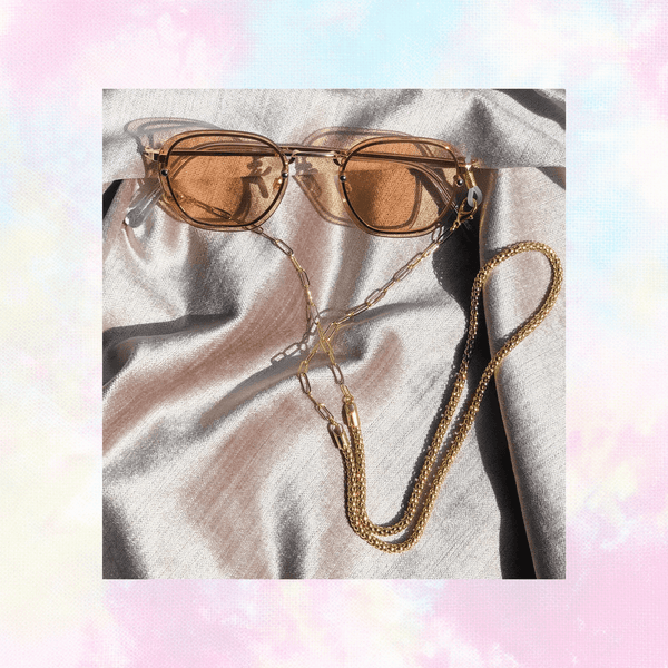2in1: sunnies+mask chains all mixed up chain - mask + sunnies