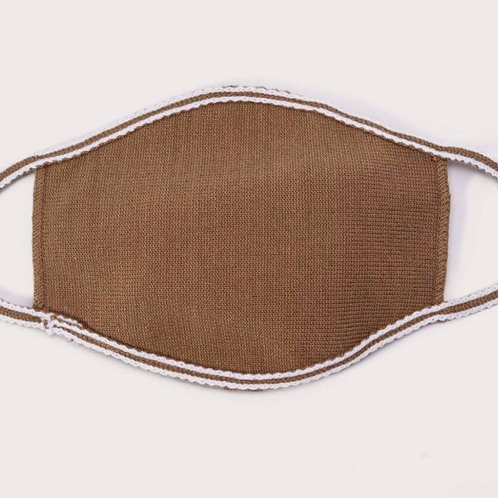 Knit Mask - Beige