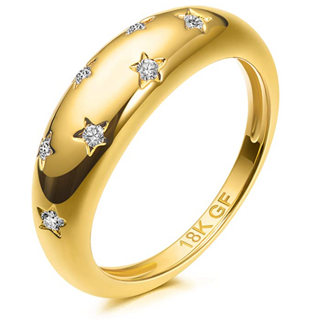 Star Dome Ring
