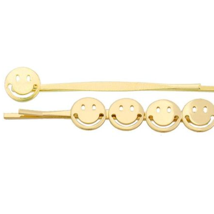set of smiles - hair clip