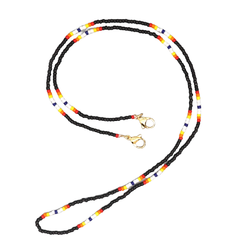 2in1 slim beaded chain