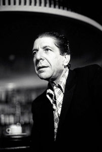 Canadian singer and writer Leonard Cohen at the Sebel Town House in Sydney. 20 May 1985
