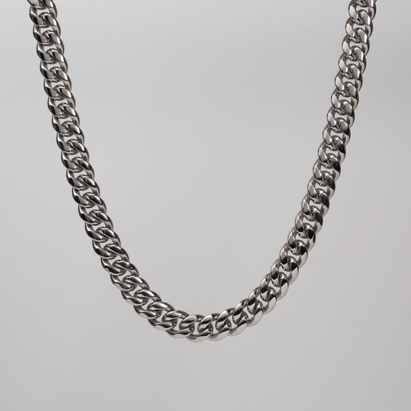 Talum Chain Silver (12mm) - Saint Rossi