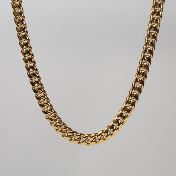 Talum Chain 18k Gold (12mm) - Saint Rossi