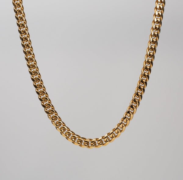 Talum Chain 18k Gold  (10mm) - Saint Rossi