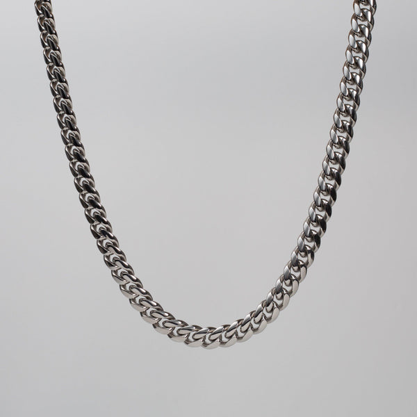 Talum Chain Silver (10mm) - Saint Rossi