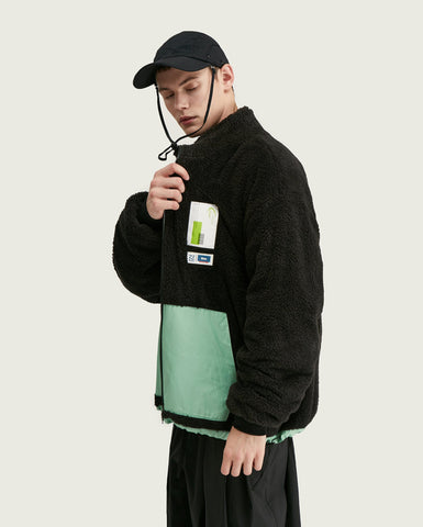 Fleece Jacket - Nero
