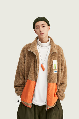 Fleece Jacket - Camel