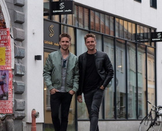 Picture of Emil and rasmus from slikhaar tv