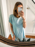 Basic Cap Sleeve Sweat Top - Different Colours
