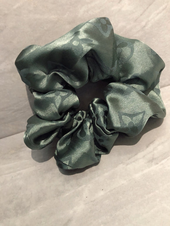 Designer Inspired Scrunchie Forest
