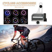 LED 32 Modes-signal Bicycle Tire Spoke Light Wheel Tire Bike Night Riding Waterproof - Bicycle and Me