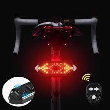 Remote Control Bicycle Turn Signals Light with Beep Sound LED Bicycle Rear Light USB Charging - Bicycle and Me