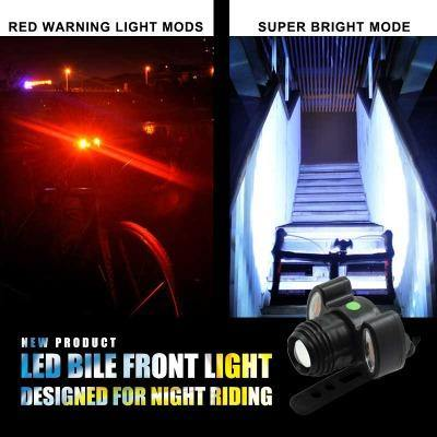 Super Bright USB Rechargeable 300LM XML T6 LED Bicycle Front Light Headlight Cycle Lamp - Bicycle and Me