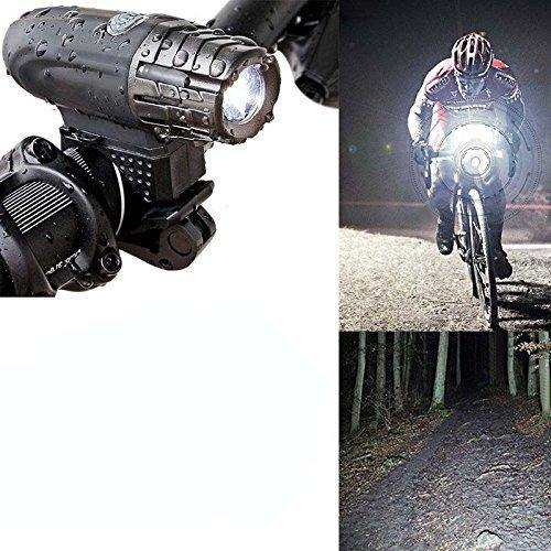 VEEBO Front and Tail Bicycle Light USB Rechargeable - Bicycle and Me