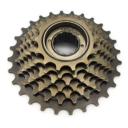 7 Speed Bicycle Freewheel 14-28 T Cassette Road Flywheel Mountain - Bicycle and Me