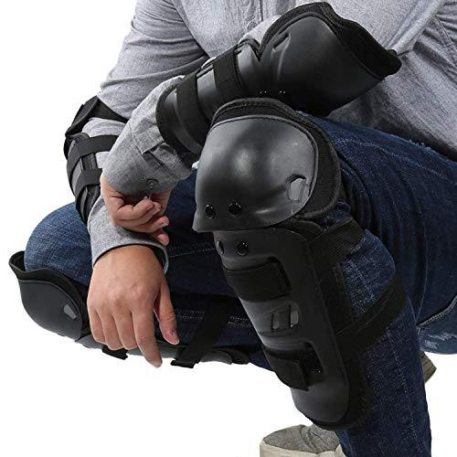 Motorcycle Cycling Knee Elbow Pads Protector 4Pcs - Bicycle and Me